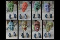 Dismaypole mask details