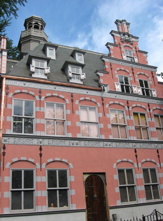 Architectural restoration beckie kravetz for Dutch house
