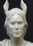 Brunhilde bust detail