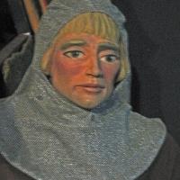 Soldier puppet head