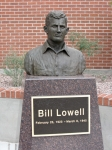 Bill Lowell bronze bust commission