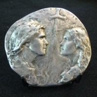Die Walküre medallion front
