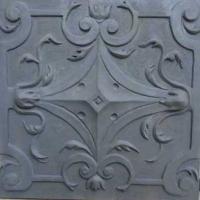 work in progress--architectural restoration panel